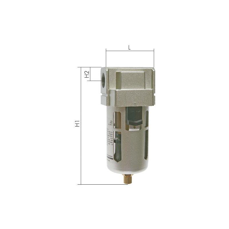 """und Wasserabscheider mit Anschlussgewinde 1//2/"""" Druckluft Filter"""