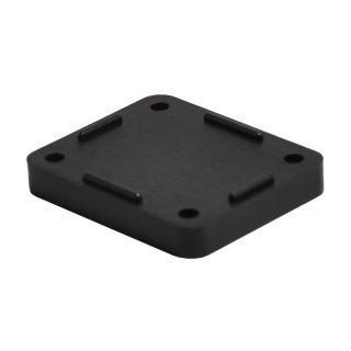 Distanzplatte für Druckluft Wanddose klein