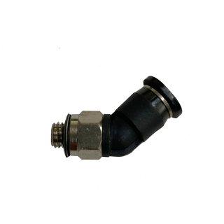 Winkel-Steckverbinder 45°