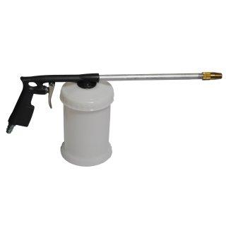 Druckluft Sprühpistole mit Kunststoffbecher