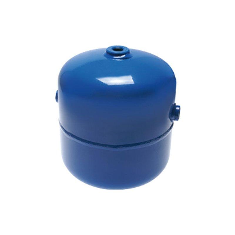 1,0 L Druckluftbehälter 4,8,7,0,11,8 L 0-11 bar mit 2 Anschlüssen 2,5