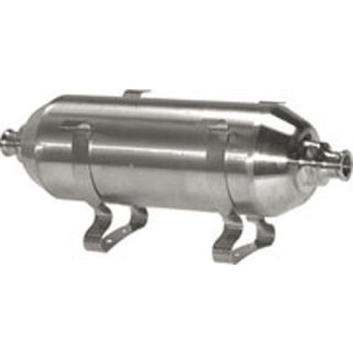 Druckluftbehälter Edelstahl klein bis 16 bar von  0,1 Liter bis 0,75 Liter