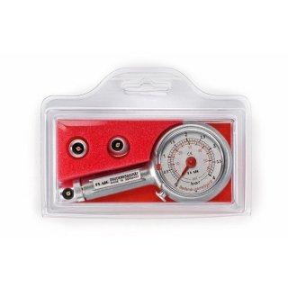 Flaig Reifendruckmessgerät in Klappbox  mit Ablass