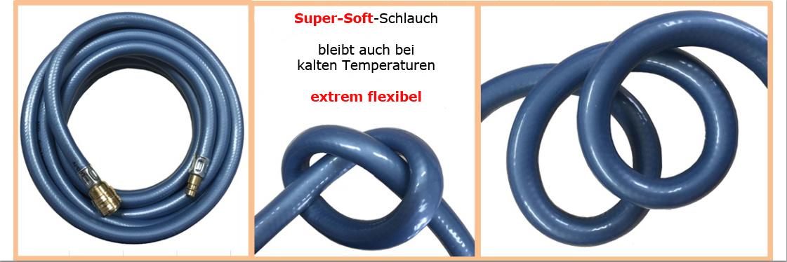 Druckluftschlauch flexibel super soft